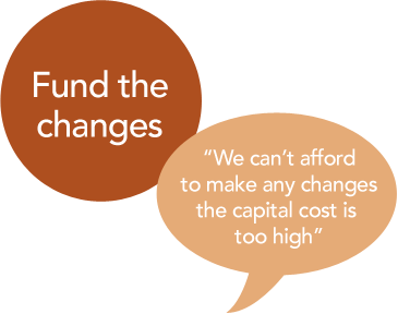 Fund the changes